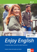 Let's Enjoy English A1.1. Student's Book + MP3-CD + DVD