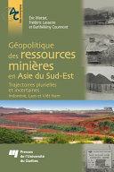 Pdf Géopolitique des ressources minières en Asie du Sud-Est Telecharger