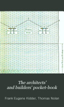 The Architects' and Builders' Pocket-book