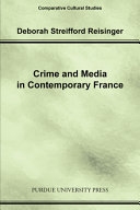 Pdf Crime and Media in Contemporary France Telecharger