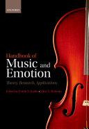 Handbook of Music and Emotion ebook