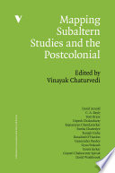 Mapping Subaltern Studies And The Postcolonial Mappings Series