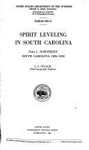 Spirit Leveling in South Carolina  1896 1938