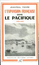 Pdf L' Expansion francaise dans le Pacifique de 1800 a 1842 Telecharger