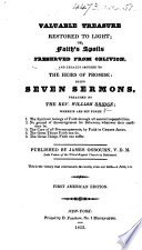 Seven Sermons By William Bridge Particularly Recommended By The Countess Dowager Of Huntingdon To The Congregations In Connection With Her Ladyship