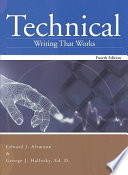 Technical Writing That Works