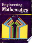 Engineering Mathematics: Vol. 1