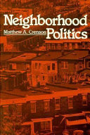 Neighborhood Politics