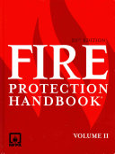 Fire Protection Handbook