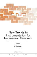 New Trends in Instrumentation for Hypersonic Research