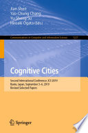 Cognitive Cities Book PDF