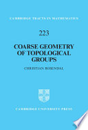 Coarse Geometry Of Topological Groups