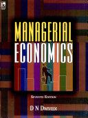 Managerial Economics, 7E