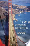 """""""Official Register 2008"""" by American Society of Civil Engineers"""