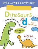 Write and Wipe Activity   Dinosaurs
