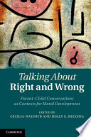 Talking about Right and Wrong Book