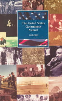The United States Government Manual 1999 2000
