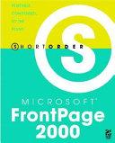 Short Order Microsoft FrontPage 2000
