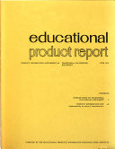 Educational Product Report