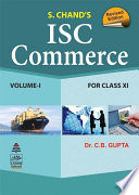 Isc Commerce Class Xi Vol I
