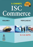 ISC Commerce Class-XI (Vol.I)