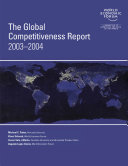 The Global Competitiveness Report 2003 2004