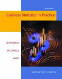 Business Statistics in Practice with PowerWeb Book PDF