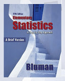 Combo  Elementary Statistics  A Brief Version with ALEKS for Statistics 1 Semester Access Code