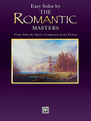 Masters Series  Easy Solos by the Romantic Masters