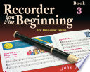 Recorder from the Beginning  Pupil s Book 3 Book