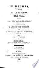 Hudibras, a Poem