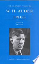 The Complete Works of W  H  Auden