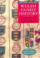 Welsh Family History