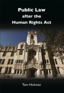 Public Law after the Human Rights Act
