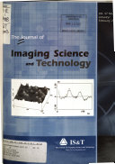 The Journal Of Imaging Science And Technology Book PDF