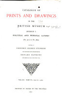 Catalogue of Prints and Drawings in the British Museum