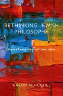 Rethinking Jewish Philosophy