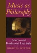 Music as Philosophy