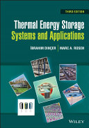 Thermal Energy Storage Systems and Applications Book