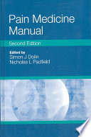 Pain Medicine Manual
