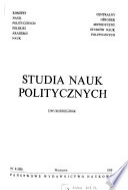 Studia nauk politycznych