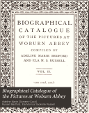 Biographical Catalogue of the Pictures at Woburn Abbey