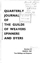 Quarterly Journal of the Association of Guilds of Weavers, Spinners & Dyers