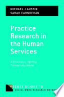 Practice Research in the Human Services