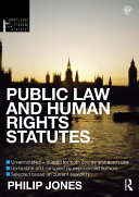 Public Law and Human Rights Statutes 2012 2013