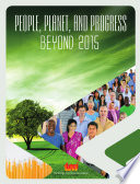 People  Planet  and Progress Beyond 2015