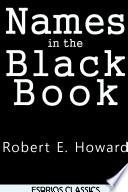 Names in the Black Book (Esprios Classics)