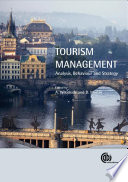 """Tourism Management: Analysis, Behaviour, and Strategy"" by Arch G. Woodside, Drew Martin"