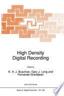 High Density Digital Recording