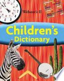 Webster S Ii Children S Dictionary